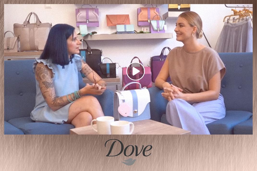 Takács Nóra videós együttműködés Dove