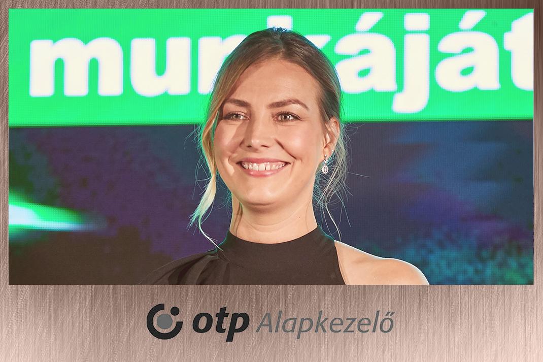 Takács Nóra műsorvezetés OTP Alapkezelő