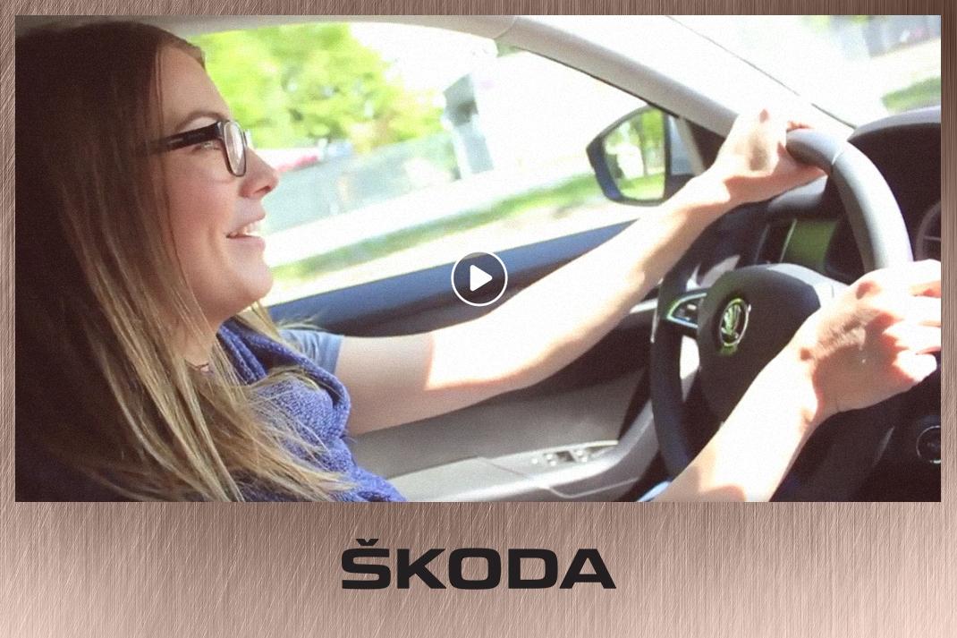 Takács Nóra videós együttműködés Skoda