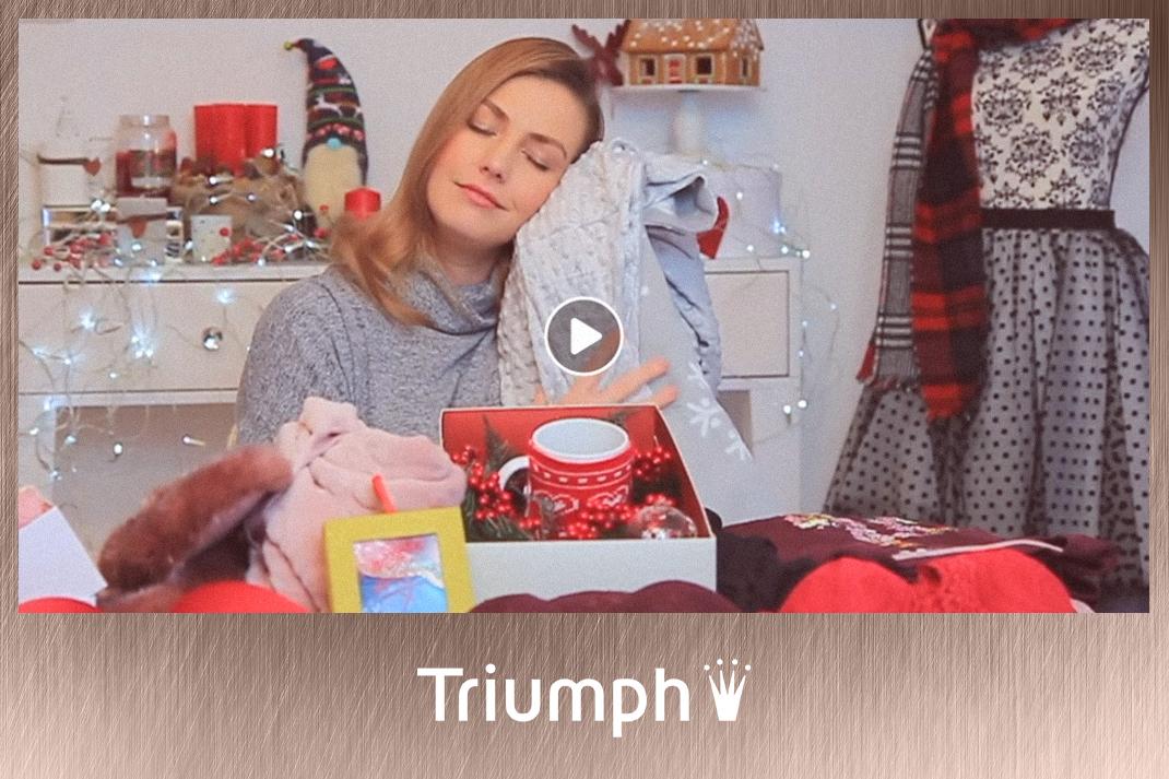 Takács Nóra videós együttműködés Triumph