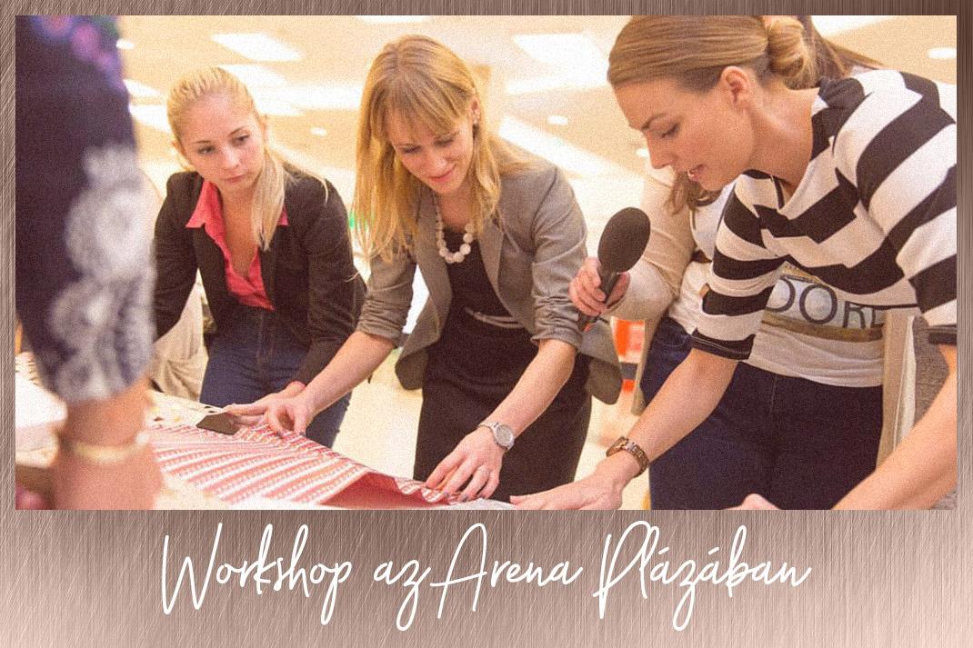 Takács Nóra Workshop az Aréna Plázában