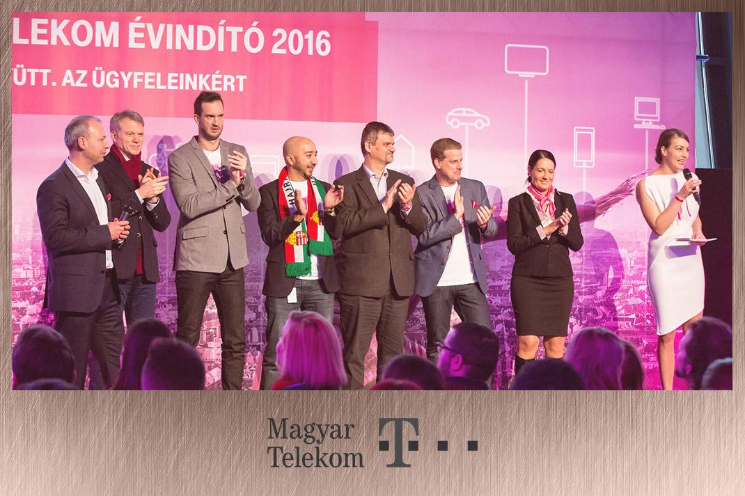 Takács Nóra műsorvezetés Magyar Telekom
